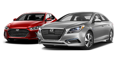 Hyundai genesis and accent