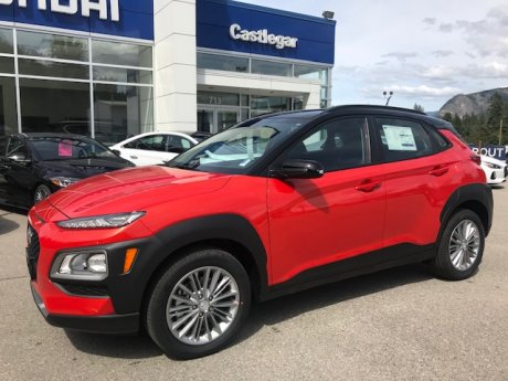 2019 Hyundai Kona Preferred with two-tone